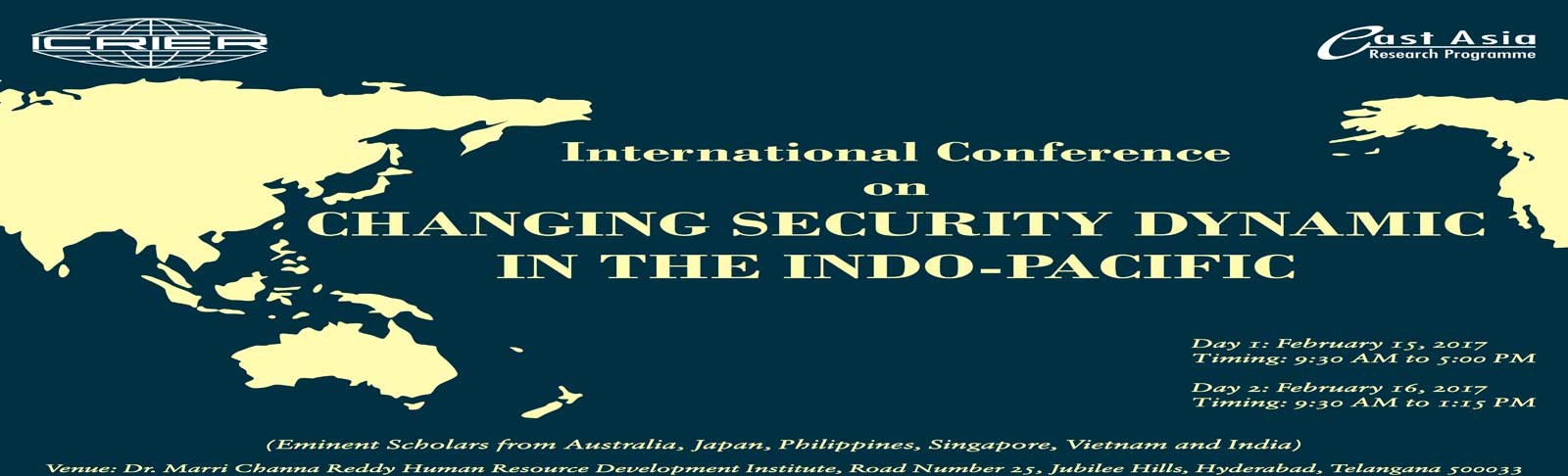 Changing Security Dynamic in the Indo-Pacific